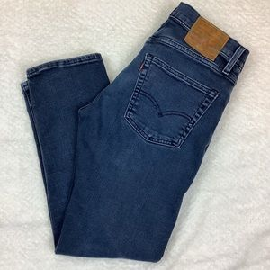 LEVI'S 502 Jeans Tapered legs Leather Tag